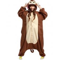 Affe Jumpsuit Schlafanzug Kostüm Onesie