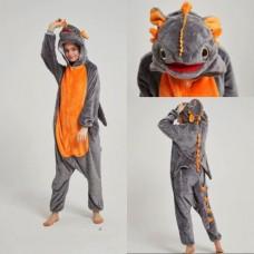 Drache Jumpsuit Schlafanzug Kostüm Onesie