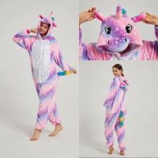 Einhorn 1 Jumpsuit Schlafanzug Kostüm Onesie