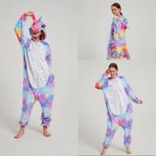 Einhorn 3 Jumpsuit Schlafanzug Kostüm Onesie