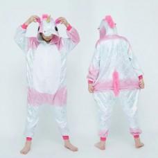 Einhorn Jumpsuit Schlafanzug Kostüm Onesie Kinder 1