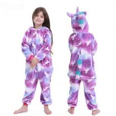 Einhorn Jumpsuit Schlafanzug Kostüm Onesie Kinder 11