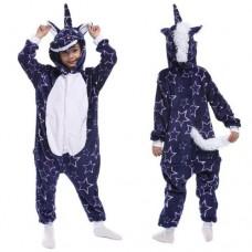 Einhorn Jumpsuit Schlafanzug Kostüm Onesie Kinder 12