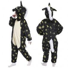 Einhorn Jumpsuit Schlafanzug Kostüm Onesie Kinder 13