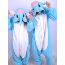 Elefant Jumpsuit Schlafanzug Kostüm Onesie