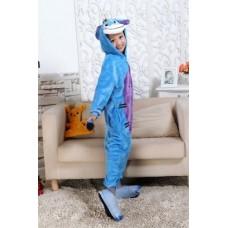 Kinder Esel Jumpsuit Schlafanzug Kostüm Onesie