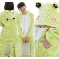 Frosch Jumpsuit Schlafanzug Kostüm Onesie