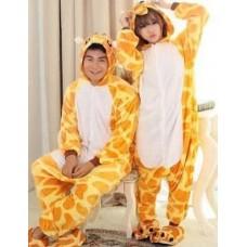 Giraffe Jumpsuit Schlafanzug Kostüm Onesie