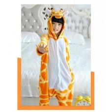Kinder Giraffe Jumpsuit Schlafanzug Kostüm Onesie