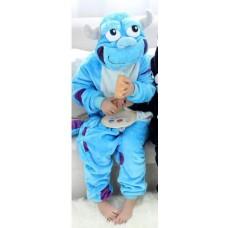 Kinder James P. Sullivan Jumpsuit Schlafanzug Kostüm Onesie