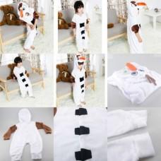 Kinder Olaf Frozen Jumpsuit Schlafanzug Kostüm Onesie