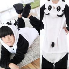 Kinder Panda Jumpsuit Schlafanzug Kostüm Onesie