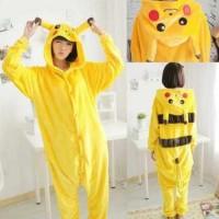 Pikachu Jumpsuit Schlafanzug Kostüm Onesie