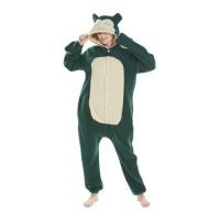 Snorlax Jumpsuit Schlafanzug Kostüm Onesie