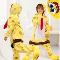 Kinder Sponge Bob Jumpsuit Schlafanzug Kostüm Onesie