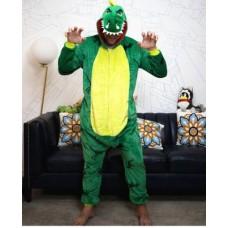 Dino Trex Jumpsuit Schlafanzug Kostüm Onesie